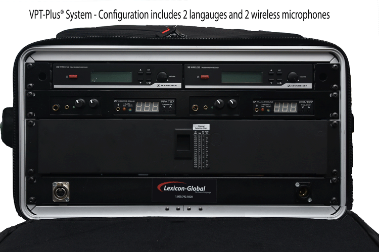 VPT-Plus®  Translation and Microphone Equipment